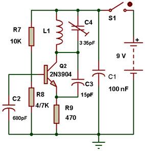 مدار نوسان ساز fm