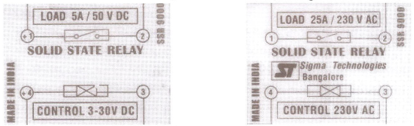 مشخصات دو نوع کنتاکتور الکترونیکی AC و DC