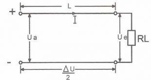 افت ولتاژ در سیستم های جریان مستقیم و متناوب