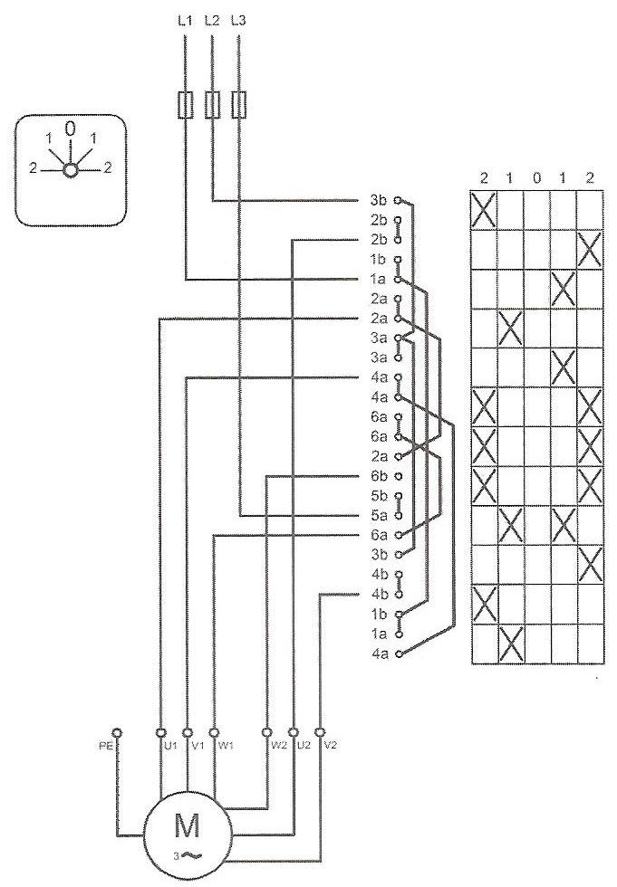 نقشه حقیقی کلید دالاندار همراه با الکتروموتور و فیوز
