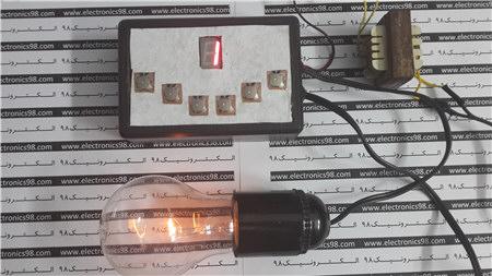 پروژه آماده کنترل توان مصرف کننده های AC با میکروکنترلر AVR