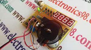 راه اندازی و کنترل موتور DC با آی سی L298 و میکرو AVR