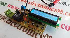 ساخت دماسنج با DS18S20 و AVR توسط پروتکل یک سیمه