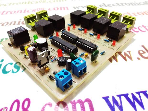 کنترل وسایل الکتریکی با آی سی MT8870D توسط خط تلفن