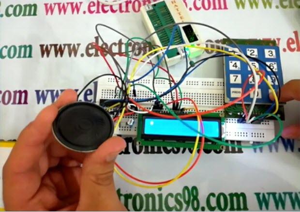 راه اندازی کی پد با میکروکنترلر AVR
