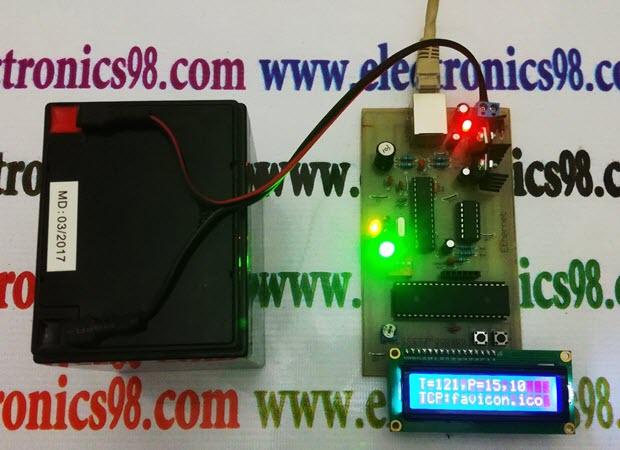 انتقال داده از طریق اترنت با ENC28J60 و میکروکنترلر AVR