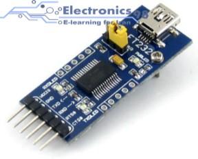 دانلود پروژه اتصال میکروکنترلر AVR به کامپیوتر از طریق USB با FT232