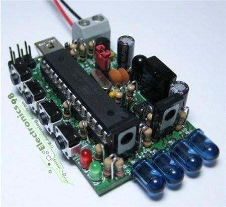 دانلود پروژه ساخت فرستنده و گیرنده مادون قرمز با میکروکنترلر AVR