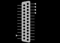 دانلود پروژه راه اندازی و کنترل موتور پله ای توسط پورت پرینتر و میکروکنترلر AVR