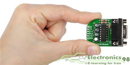 دانلود پروژه ارتباط میکروکنترلر AVR و کامپیوتر توسط درگاه سریال UART