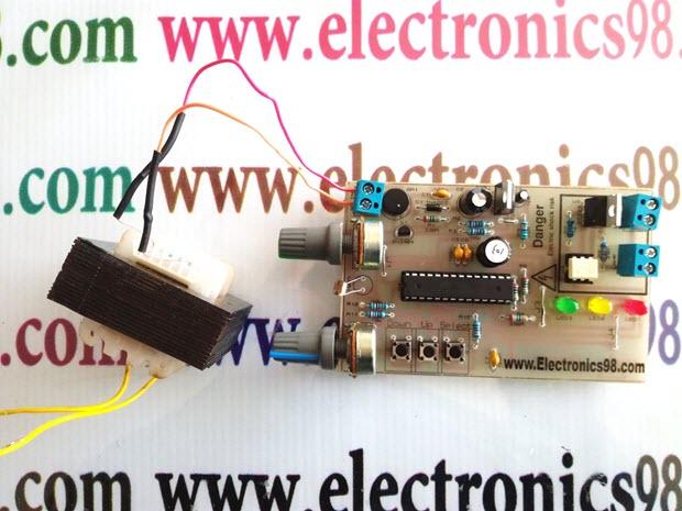 کنترل توان مصرف کننده های AC به صورت دیجیتالی با AVR