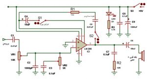 Power amplifier with gains1
