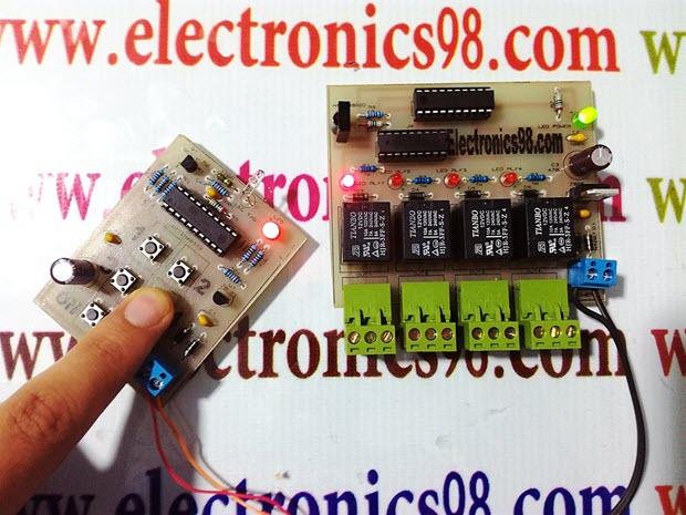 ساخت ریموت کنترل ساده مادون قرمز با میکروکنترلر AVR