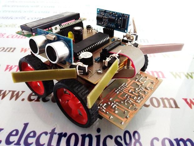 آموزش ساخت ربات امدادگر جونیور (مسیریاب پیشرفته)