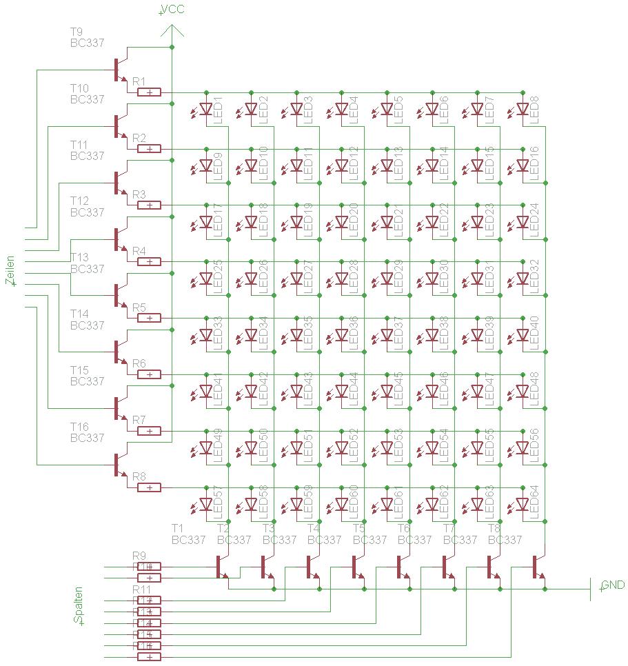 دانلود پروژه آموزش ساخت نمایشگر LED روان یا تابلو روان با میکروکنترلر AVR