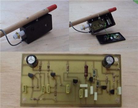 مدار کامل دستگاه فلزیاب BFO دو اسیلاتور
