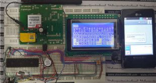 Touch-SMS-With-AVR-And-Sim900