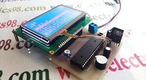 ساخت ماشین حساب تاچ اسکرین با LCD گرافیکی و AVR