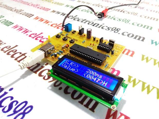 دانلود پروژه ساخت دیتا لاگر USB با میکروکنترلر AVR