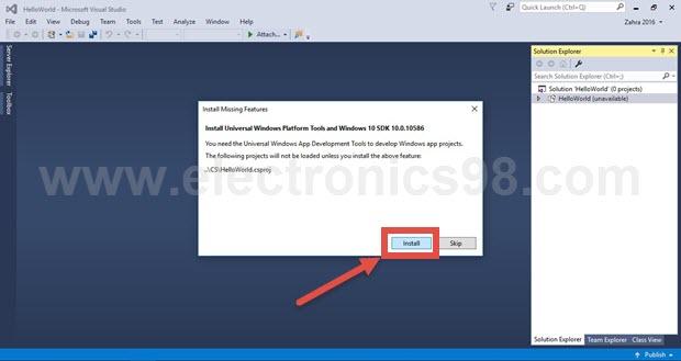آموزش نصب Visual Studio و راه اندازی پروژه Hello World با رسپبری پای