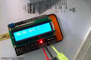 ساخت دماسنج خطی با تراشه MCP9700A و آردوینو