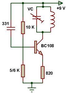 fm با یک ترانزیستور