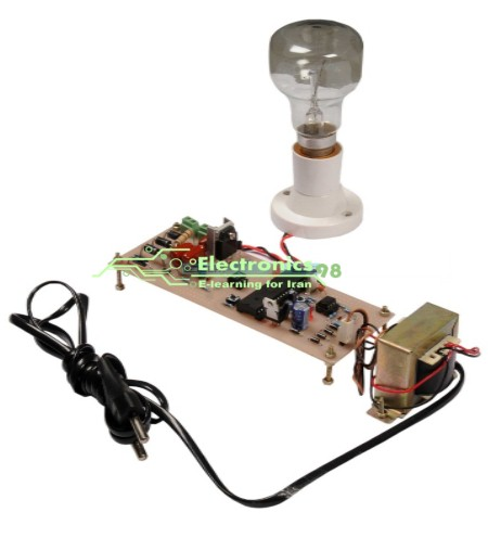 کنترل نور لامپ و سرعت موتور AC تک فاز و سه فاز با میکروکنترلر AVR