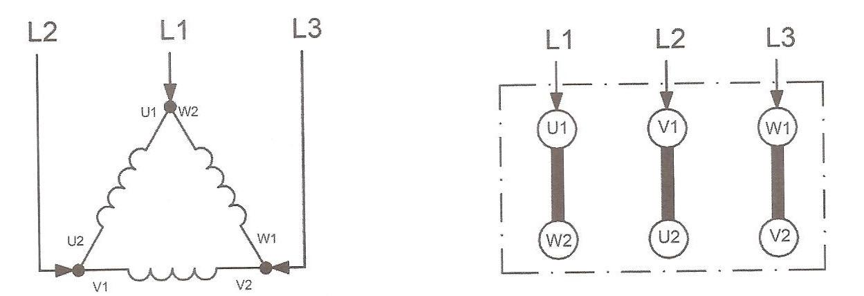 نقشه اتصال مثلث